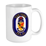 USS Ford FFG-54 Navy Ship Large Mug