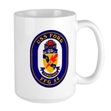 USS Ford FFG-54 Navy Ship Mug