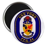 USS Ford FFG-54 Navy Ship Magnet