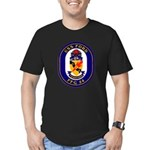 USS Ford FFG-54 Navy Ship Men's Fitted T-Shirt (da