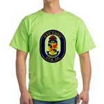USS Ford FFG-54 Navy Ship Green T-Shirt