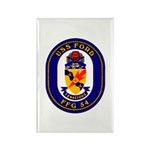 USS Ford FFG-54 Navy Ship Rectangle Magnet (10 pac