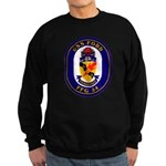 USS Ford FFG-54 Navy Ship Sweatshirt (dark)