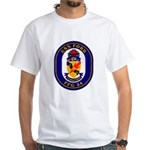 USS Ford FFG-54 Navy Ship White T-Shirt