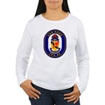 USS Ford FFG-54 Navy Ship Women's Long Sleeve T-Sh