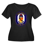 USS Ford FFG-54 Navy Ship Women's Plus Size Scoop
