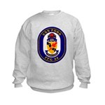 USS Ford FFG-54 Navy Ship Kids Sweatshirt