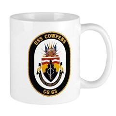 USS Cowpens CG-63 Navy Ship Mug