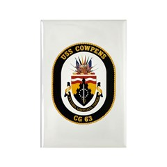 USS Cowpens CG-63 Navy Ship Rectangle Magnet (100