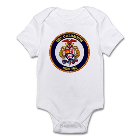 USS Columbus SSN 762 Navy Ship Infant Bodysuit