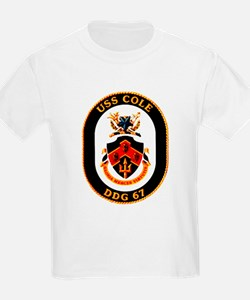 USS Cole DDG-67 Navy Ship T-Shirt