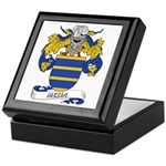 Mesia Coat of Arms Keepsake Box