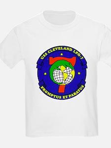 USS Cleveland LPD 7 Navy Ship T-Shirt