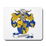 Mesquita Coat of Arms Mousepad