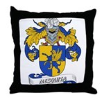 Mesquita Coat of Arms Throw Pillow