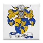 Mesquita Coat of Arms Tile Coaster