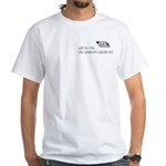 Scott Designs Ceiling Cat White T-Shirt