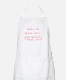 Feed Chocolate to Breast Cancer BBQ Apron