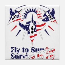 Fly to survive Tile Coaster