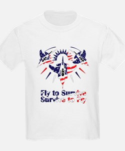 Fly to survive T-Shirt