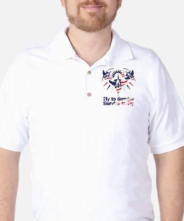Fly to survive Golf Shirt
