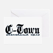 C-Town Cleveland Greeting Card