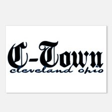 C-Town Cleveland Postcards (Package of 8)