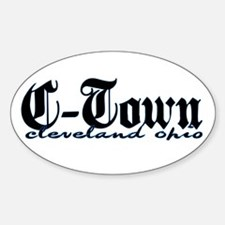 C-Town Cleveland Oval Decal