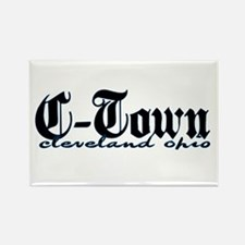 C-Town Cleveland Rectangle Magnet