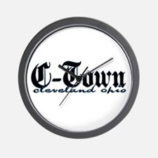 C-Town Cleveland Wall Clock