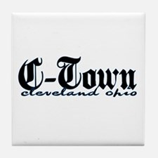 C-Town Cleveland Tile Coaster
