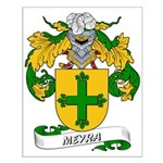 Meyra Coat of Arms Small Poster