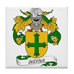 Meyra Coat of Arms Tile Coaster