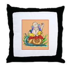 Buddha Fairy Throw Pillow
