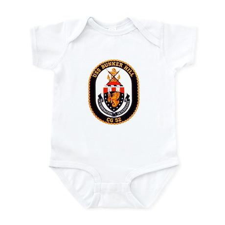 USS Bunker Hill CG-52 Navy Ship Infant Bodysuit