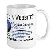 Need A Website? Mug