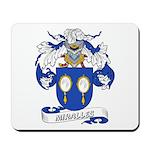 Miralles Coat of Arms Mousepad