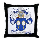 Miralles Coat of Arms Throw Pillow