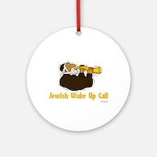 Wake Up Call Ornament (Round)