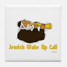Wake Up Call Tile Coaster