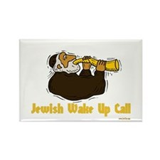 Wake Up Call Rectangle Magnet