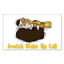 Wake Up Call Rectangle Decal