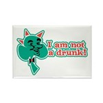 I am Not a Drunk! Rectangle Magnet (100 pack)