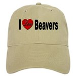 I Love Beavers Cap