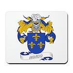 Monso Coat of Arms Mousepad
