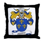 Monso Coat of Arms Throw Pillow
