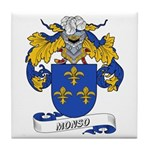 Monso Coat of Arms Tile Coaster