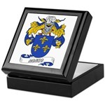 Monso Coat of Arms Keepsake Box