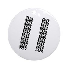Skidmarks - Tires Ornament (Round)