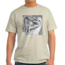 2-Curious square sugar gliders T-Shirt